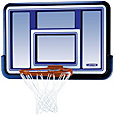 "Lifetime 44"" Backboard and Rim Combo"