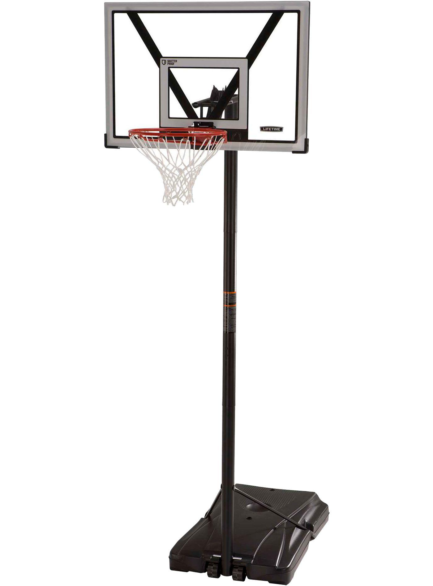 Lifetime 44'' Steel-Framed Portable Basketball Hoop