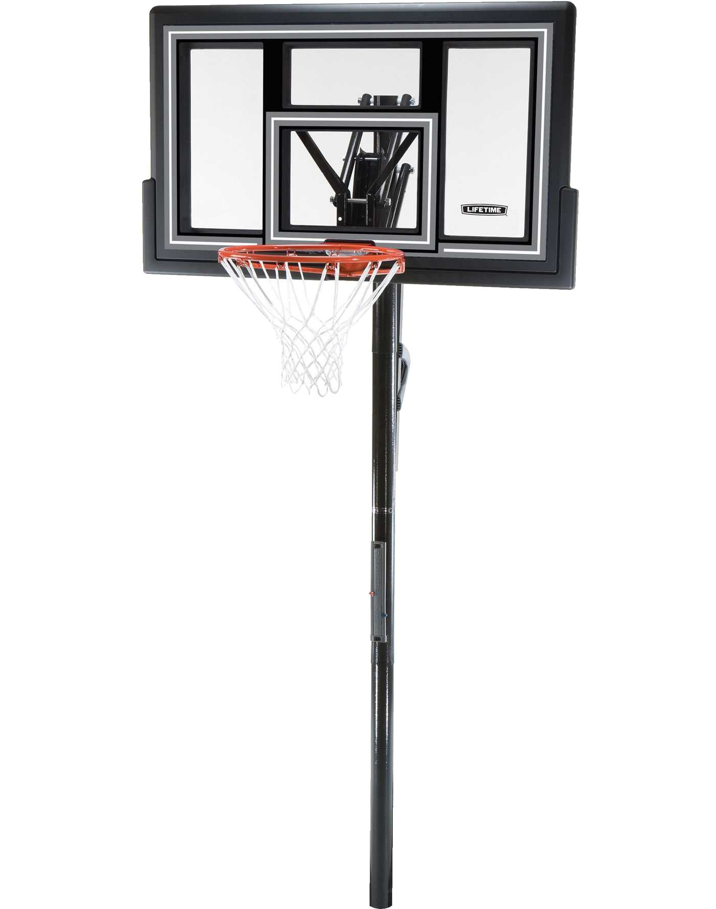 """Lifetime 50"""" In-Ground Shatter Proof Fusion Action Basketball Hoop"""