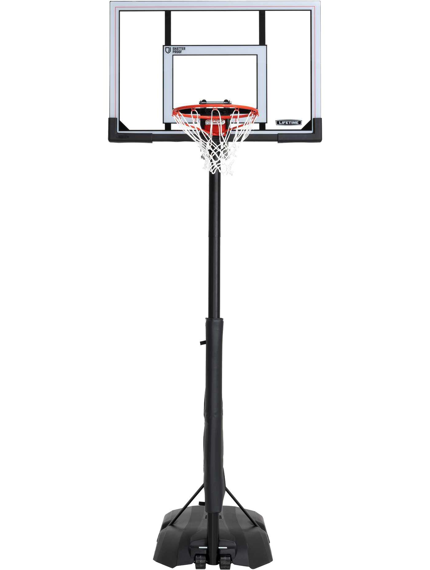 "Lifetime Front Court 50"" Portable Basketball Hoop"
