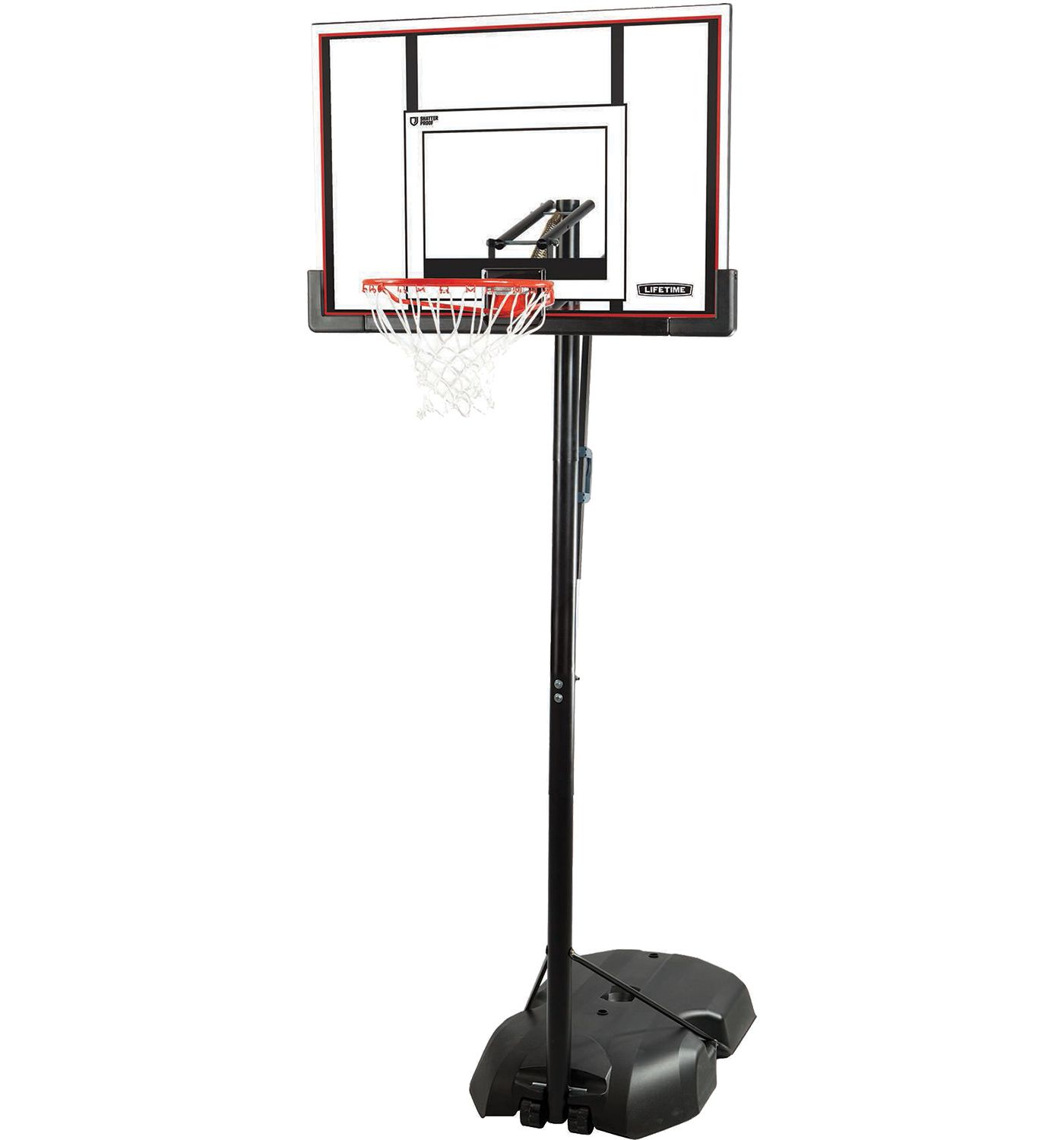 "Lifetime 50"" Steel-Frame Portable Basketball Hoop"