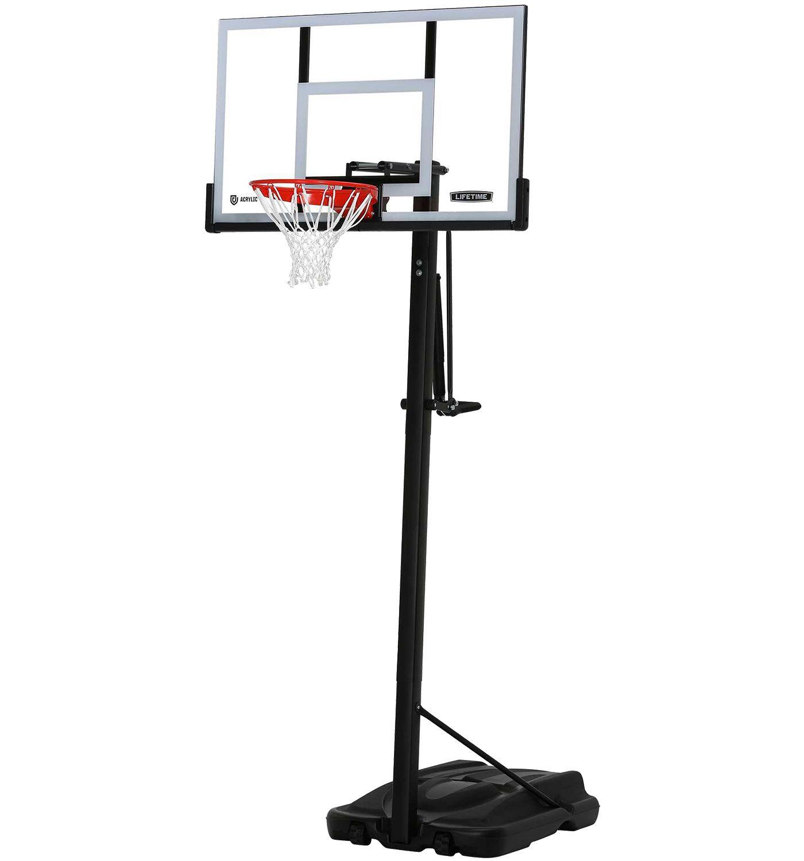 Lifetime 54'' Steel Framed Acrylic Portable Basketball Hoop