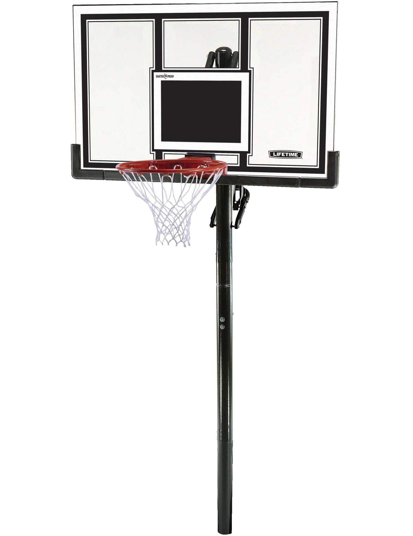 "Lifetime 54"" In-Ground Basketball Hoop"