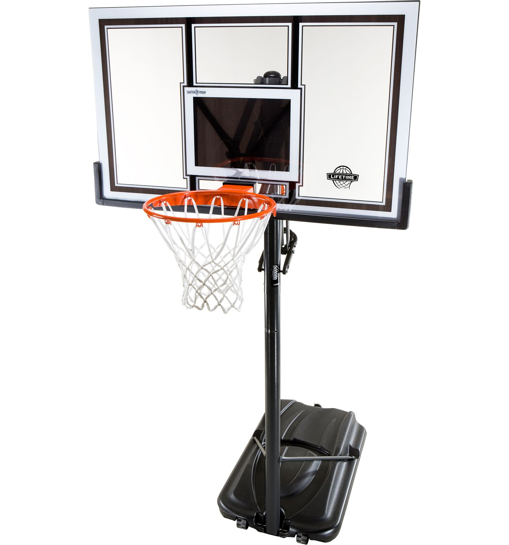 "Lifetime 54"" Portable Basketball Hoop"