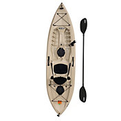 Lifetime Tamarack Muskie 100 Angler Kayak with Paddle