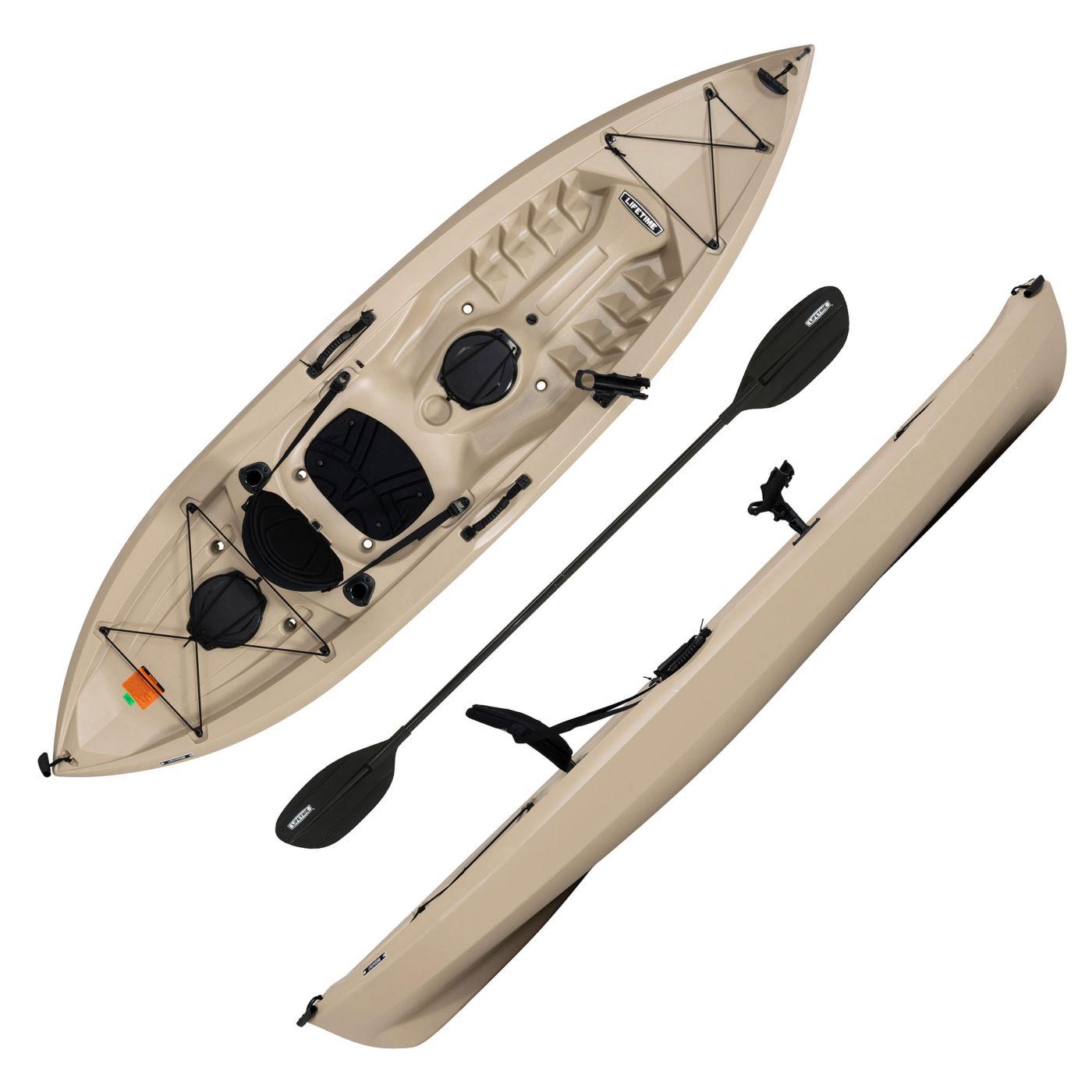 Lifetime Muskie 100 Angler Kayak with Paddle