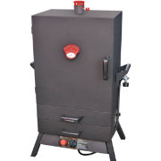 "Landmann 38"" Two-Drawer Wide Vertical Gas Smoker"