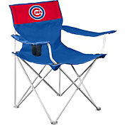 Logo Chicago Cubs Team-Colored Canvas Chair