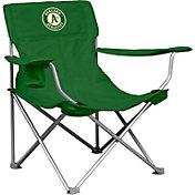 Logo Oakland Athletics Canvas Chair