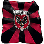 D.C. United Raschel Throw Blanket