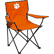 Clemson Tigers Team-Colored Canvas Chair