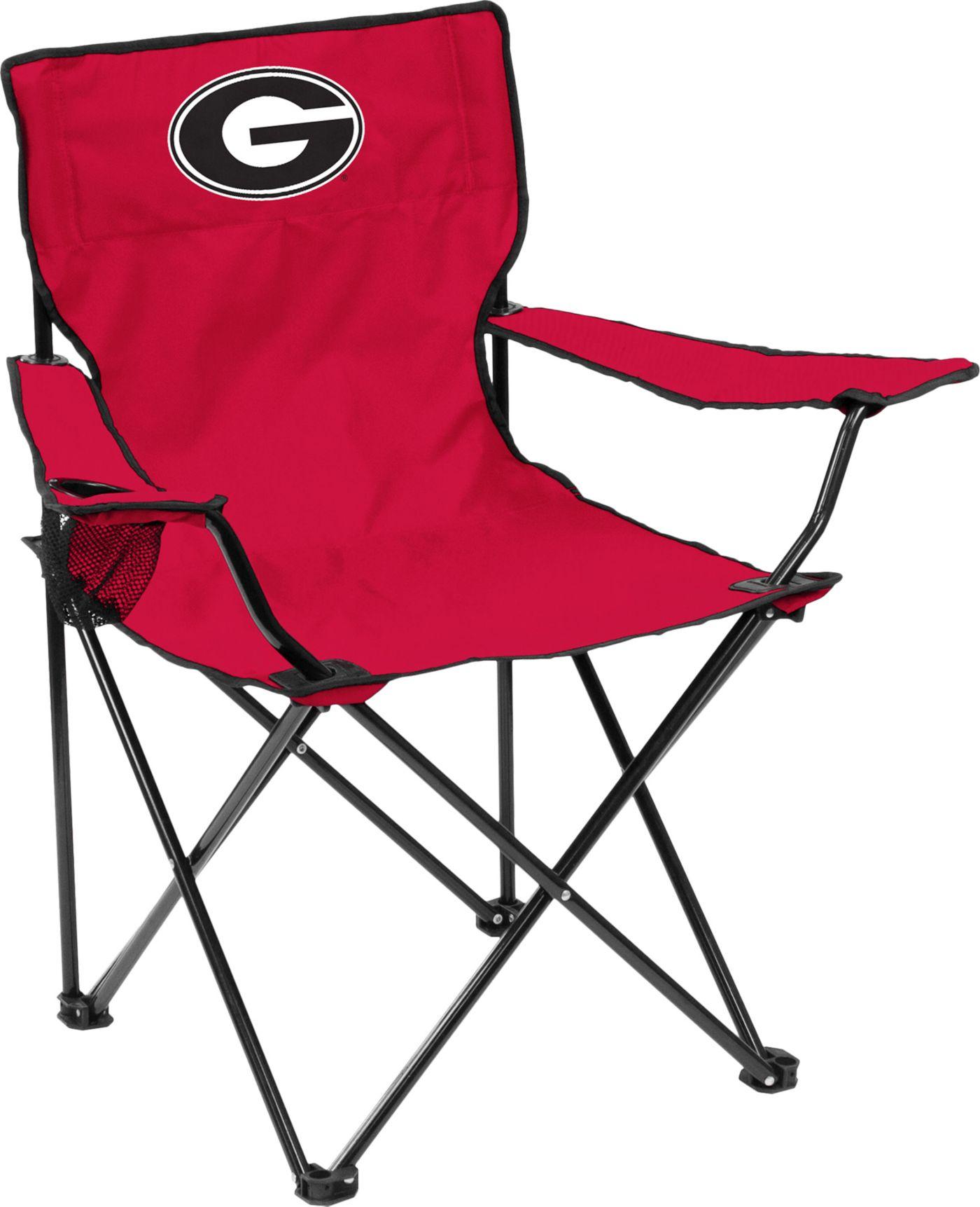 Georgia Bulldogs Team-Colored Canvas Chair