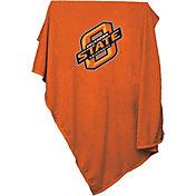 Oklahoma State Cowboys Sweatshirt Blanket