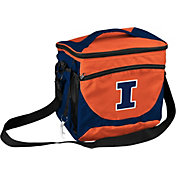 Illinois Fighting Illini 24 Can Cooler