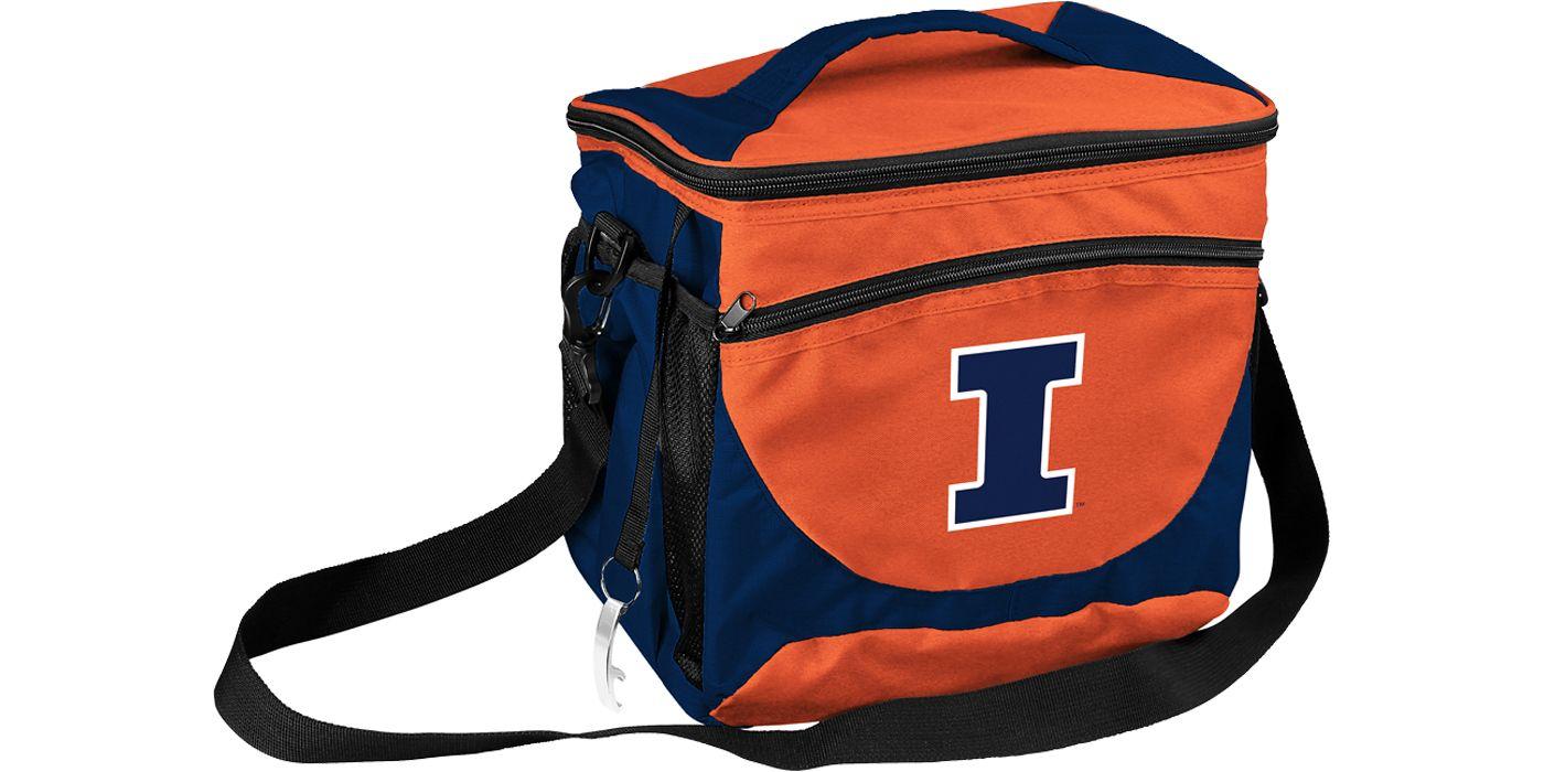 Illinois Fighting Illini 24 Can Cooler
