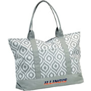 Illinois Fighting Illini Ikat Tote