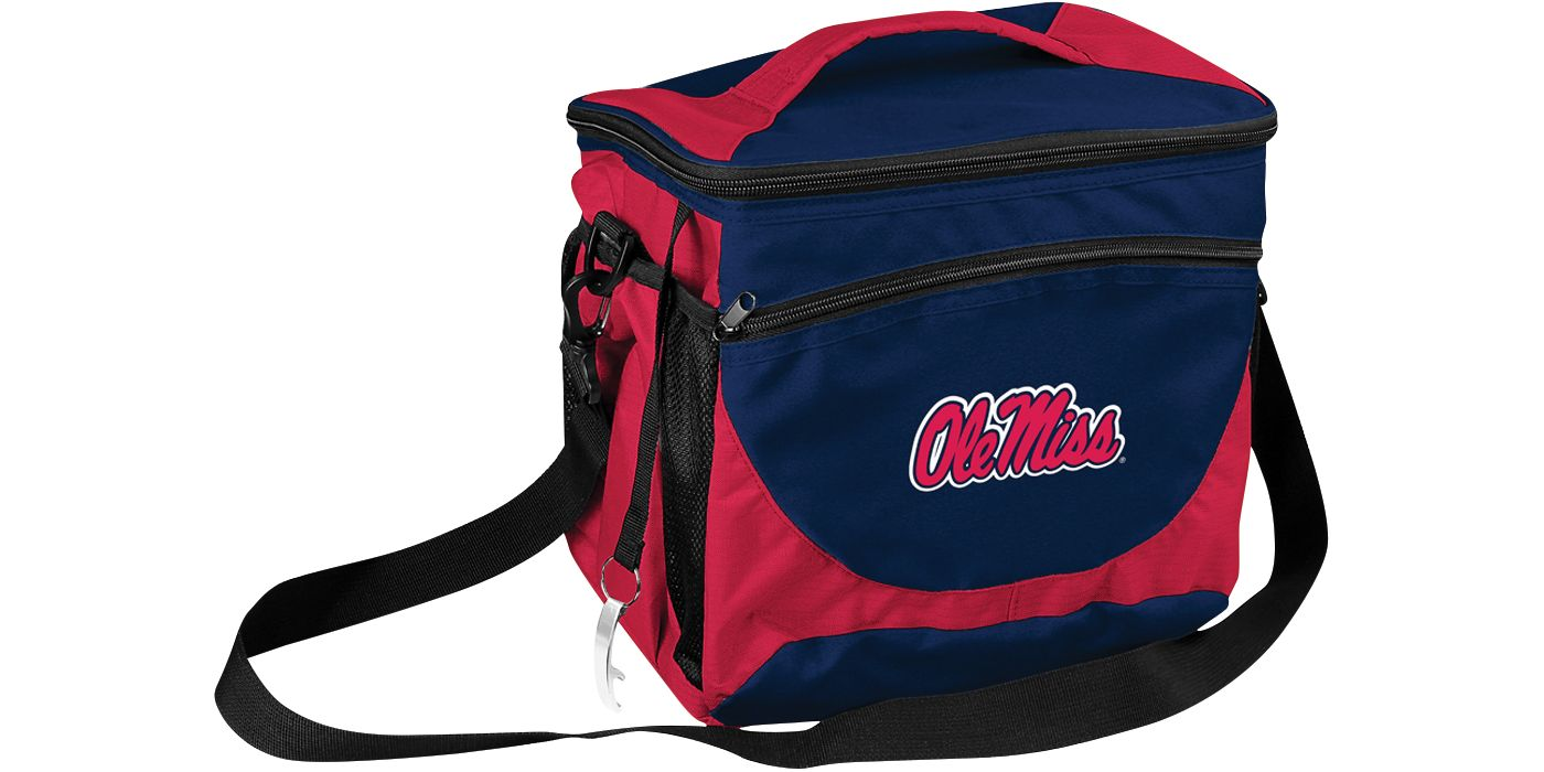 Ole Miss Rebels 24 Can Cooler