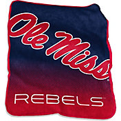 Ole Miss Rebels Raschel Throw