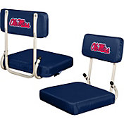 Ole Miss Rebels Hard Back Stadium Seat