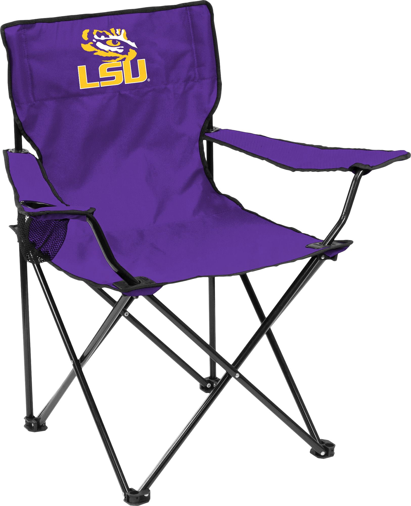 LSU Tigers Team Colored Canvas Chair