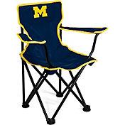 Michigan Wolverines Kids Logo Chair