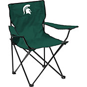 Michigan State Spartans Team-Colored Canvas Chair