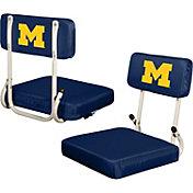 Michigan Wolverines Hard Back Stadium Seat