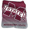 Mississippi State Bulldogs Raschel Throw