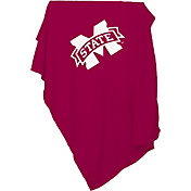 Mississippi State Sweatshirt Blanket Sweatshirt Throw