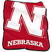 Nebraska Cornhuskers Raschel Throw