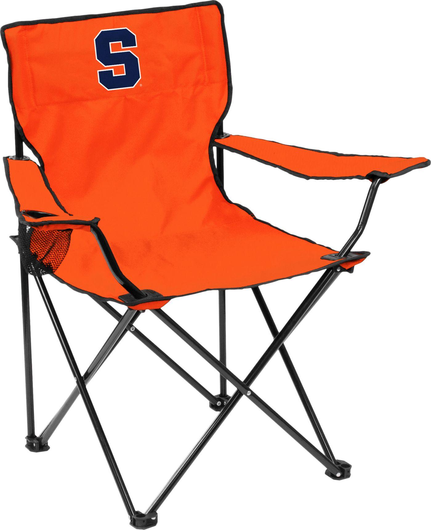 Syracuse Orange Team-Colored Canvas Chair