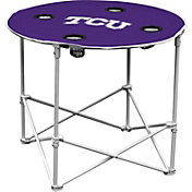 TCU Horned Frogs Portable Round Table