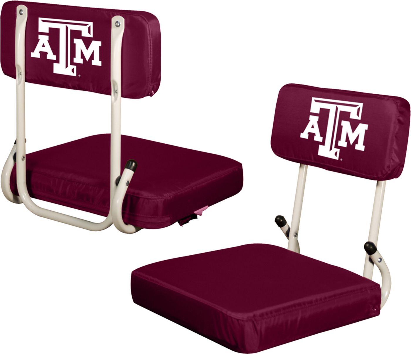 Texas A&M Aggies Hard Back Stadium Seat