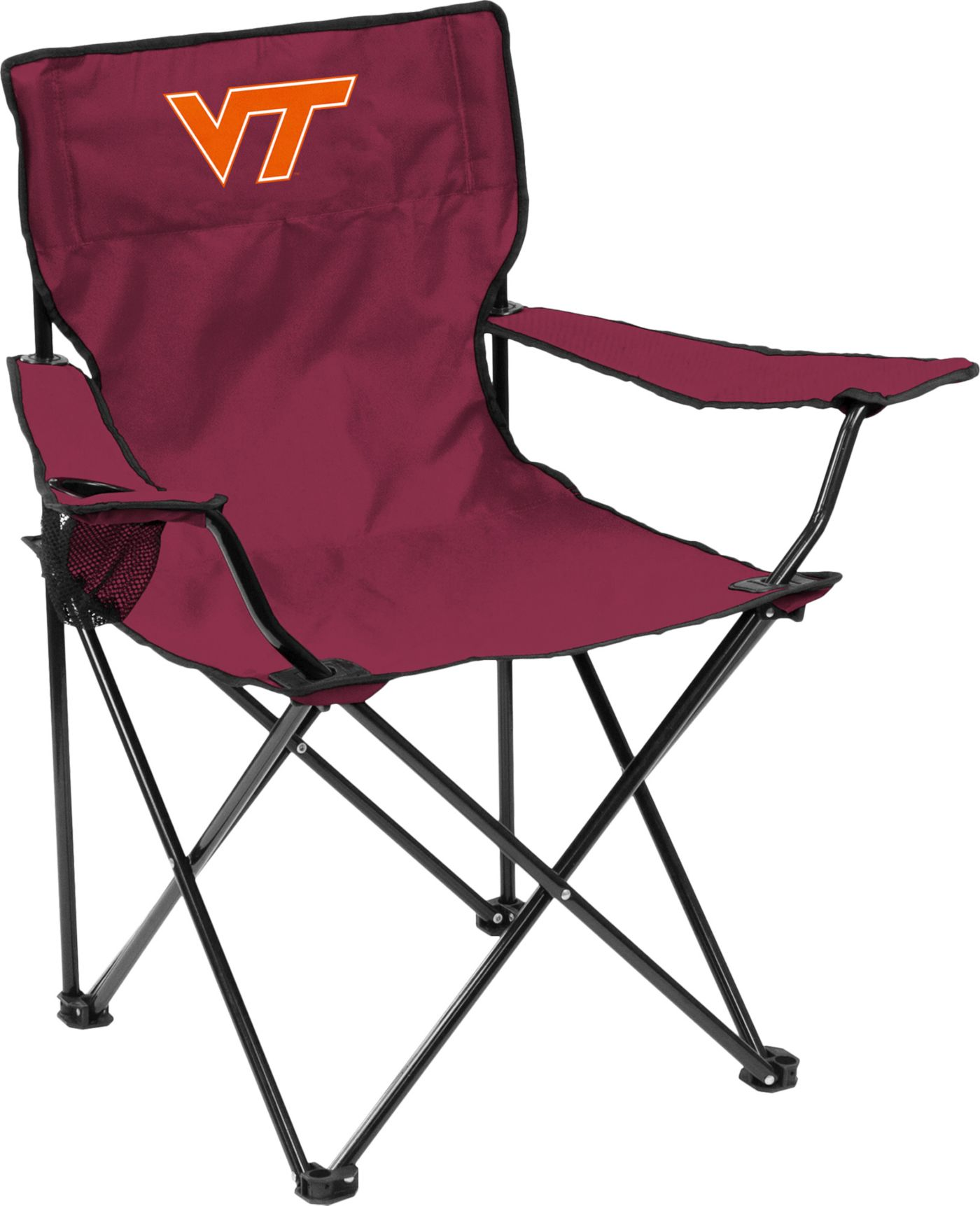 Virginia Tech Hokies Team-Colored Canvas Chair