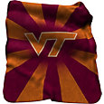 Virginia Tech Hokies Sherpa Throw Blanket