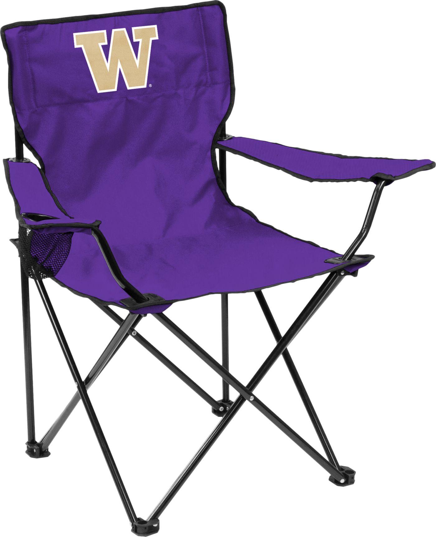 Washington Huskies Team-Colored Canvas Chair