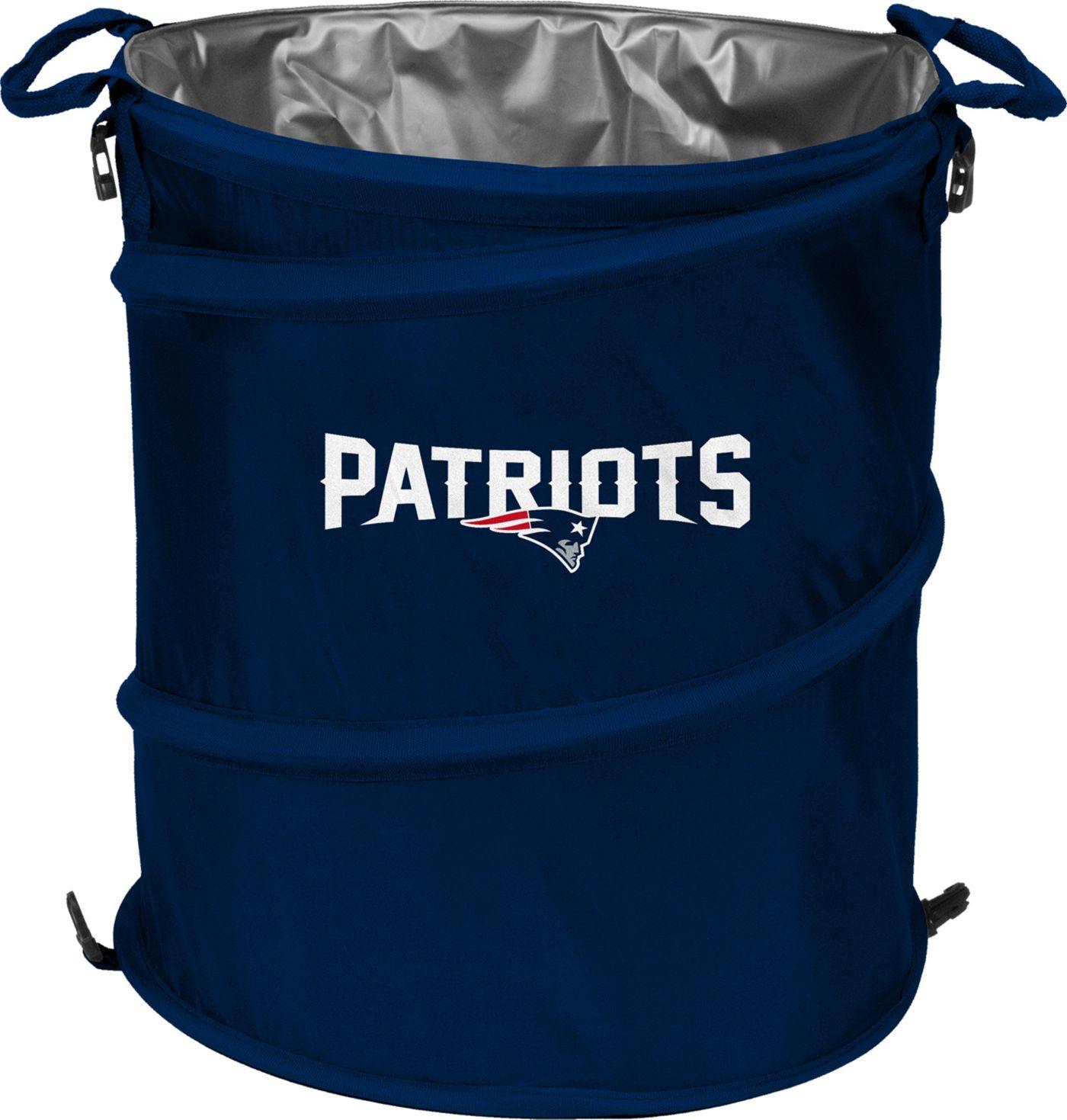New England Patriots Trash Can Cooler