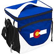Logo State of Colorado Flag 24 Can Cooler Bag