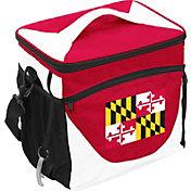 Logo State of Maryland Flag 24 Can Cooler Bag