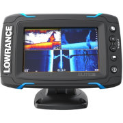 Lowrance Elite-5 Ti GPS Fish Finder with Mid/High/DownScan (000-12421-001)