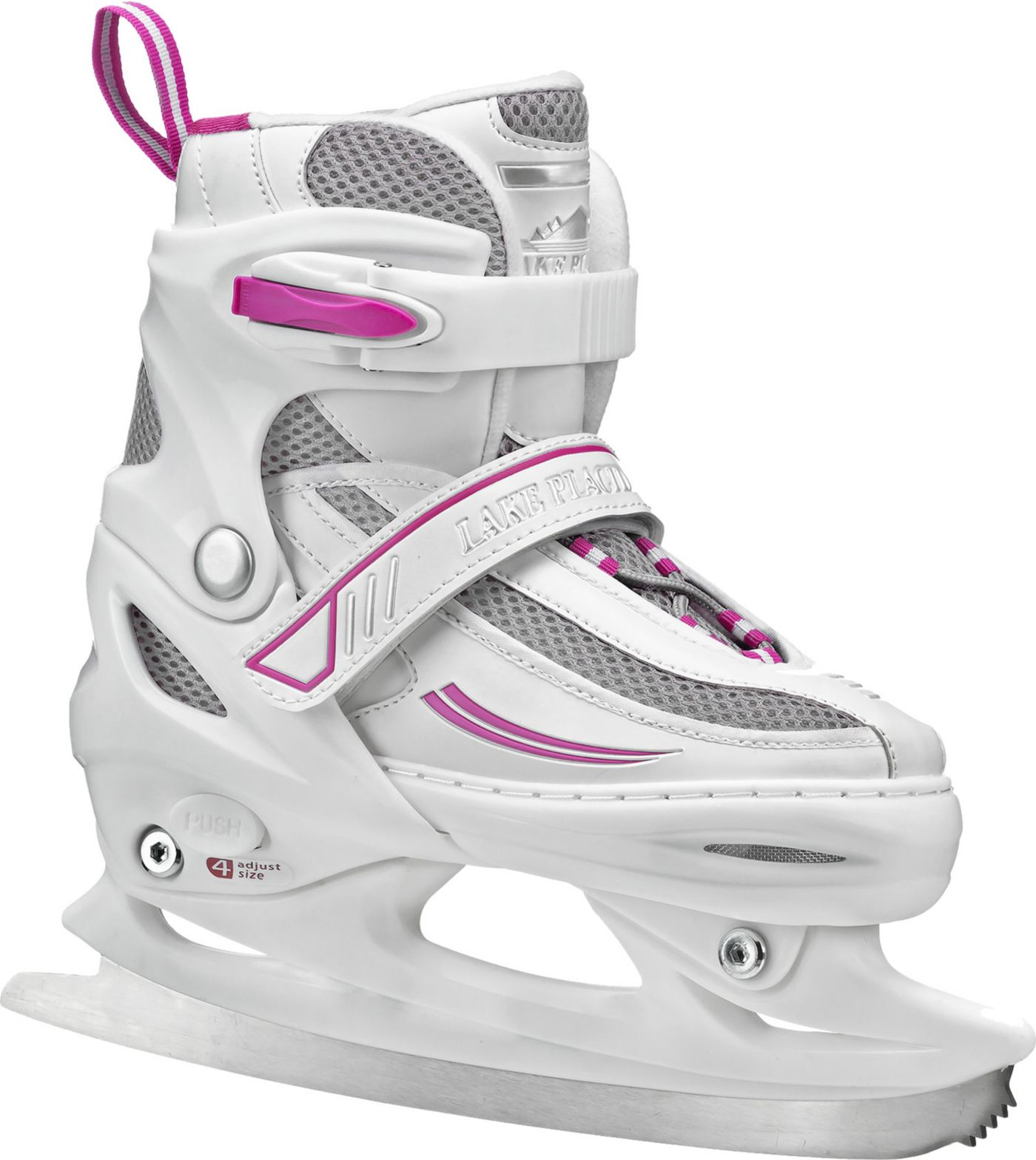 Lake Placid Girls' Summit Adjustable Ice Skates