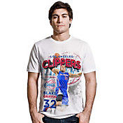Levelwear Men's Los Angeles Clippers Blake Griffin Center Court White T-Shirt