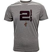 Levelwear Men's Cleveland Cavaliers  Kyrie Irving Fadeaway Grey T-Shirt