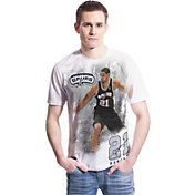Levelwear Men's San Antonio Spurs Tim Duncan Highlight White T-Shirt