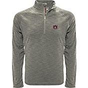 Levelwear Men's Auburn Tigers Grey Mobility Long Sleeve Quarter-Zip Shirt
