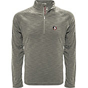 Levelwear Men's Florida State Seminoles Grey Mobility Long Sleeve Quarter-Zip Shirt
