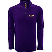 Levelwear Men's LSU Tigers Purple Metro Quarter-Zip Pullover
