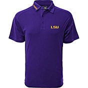 Levelwear Men's LSU Tigers Purple Tactical Polo