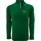 Levelwear Men's Marshall Thundering Herd Green Metro Quarter-Zip Pullover