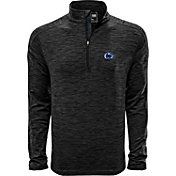 Levelwear Men's Penn State Nittany Lions Grey Armour Quarter-Zip Shirt